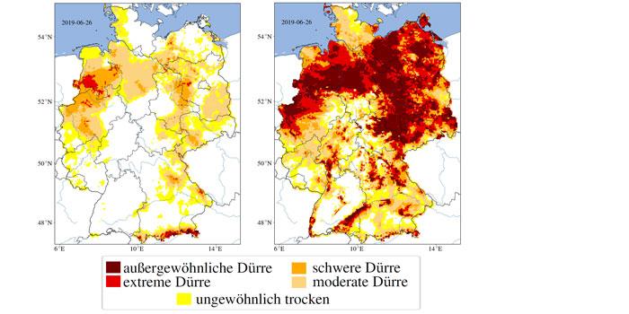 Wasserknappheit In Deutschland