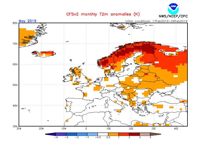 Wetterprognose Und Vorhersage Mai 2019 Wettercom