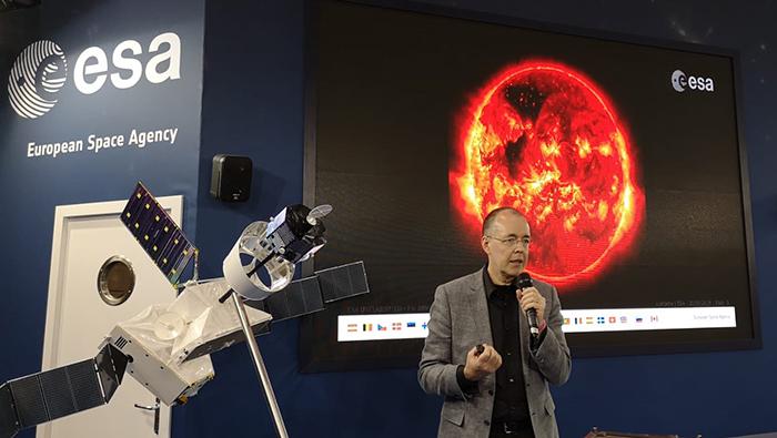 Juha-Pekka Luntama (ESA)