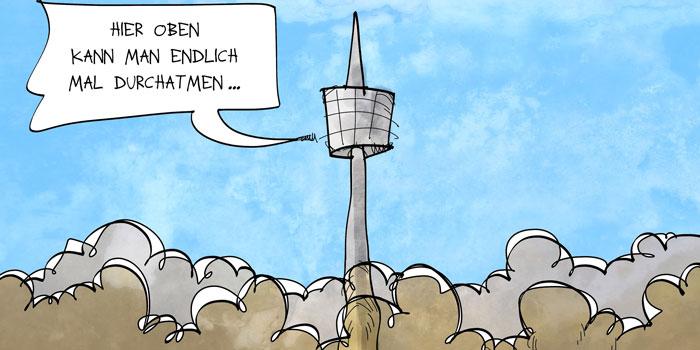 Luftverschmutzung in Stuttgart