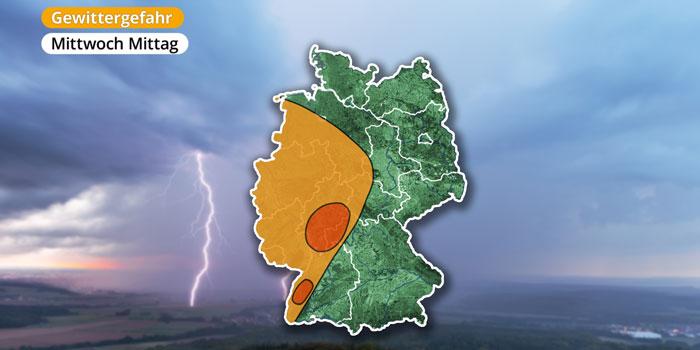 Hagel, Sturmböen und Starkregen! Jetzt rollen schwere Gewitter auf Sachsen zu