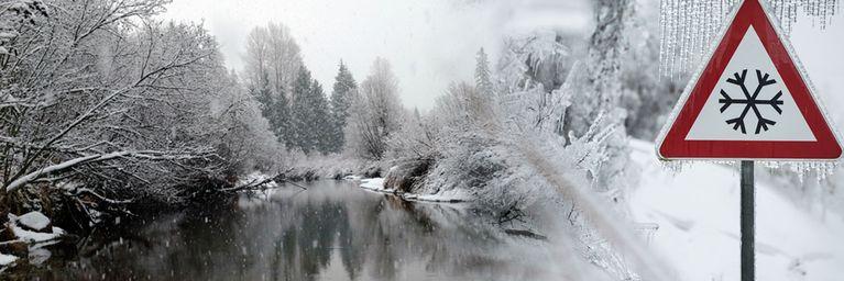 Frostluft mit Schneenachschub