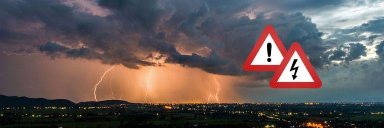 Vorsicht! Gewitter legen wieder zu!