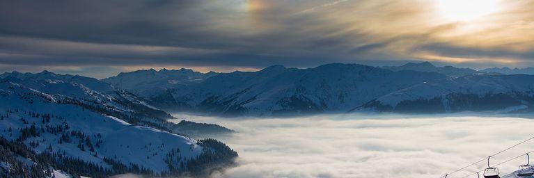 Zwischen Schneemassen und Sonnenglanz
