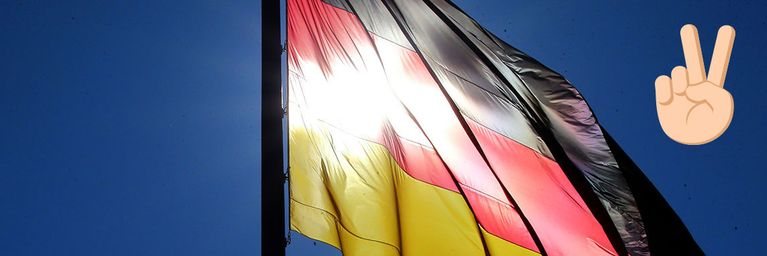 Public Viewing: Wettergott ist Deutschland-Fan