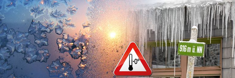 Arktische Kälte! Überall droht Dauerfrost!