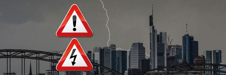 Auch heute kräftige Gewitter in dampfiger Luft