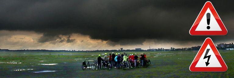 Unwettergefahr durch kräftige Gewitter!