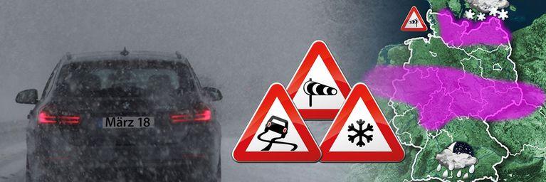 Verkehrsbehinderungen drohen! Es wird kritisch!