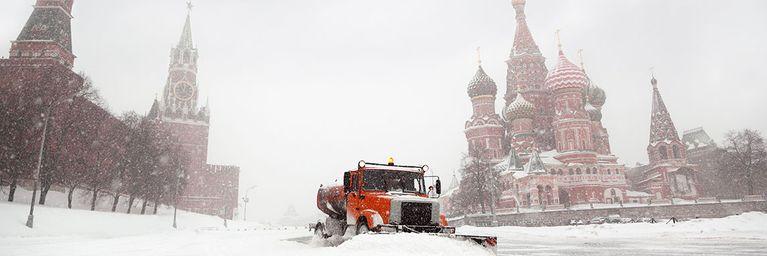 Russland-Kälte im Anmarsch