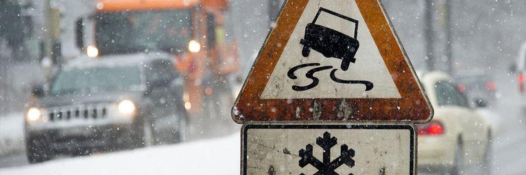 Schnee und Glätte im Süden!