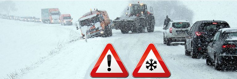 Viel Schnee und Eisregen in Sicht!