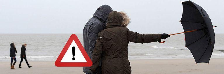 Kaltfront bringt Norden auch stürmische Böen