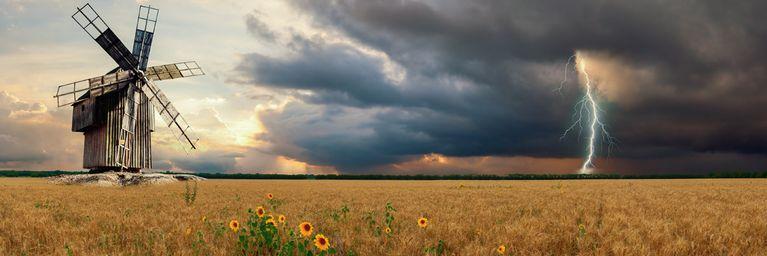 Wochenstart zwischen Gewitter und Sonne