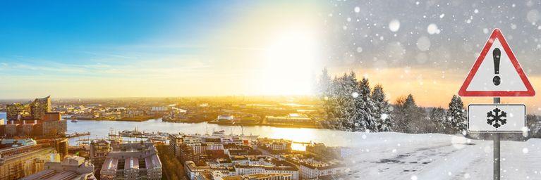 3. Advent teils sehr winterlich