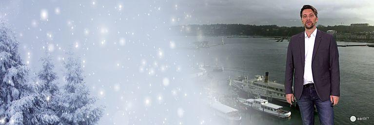 Kalte, feuchte Luft bringt Schnee