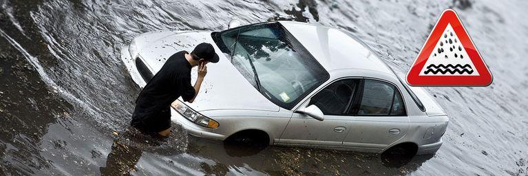 Massive Regenfälle werden zum Problem