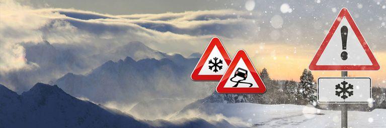 Schneefallgrenze sinkt nach Föhn-Zusammenbruch