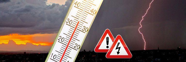 Hitze-Wochenende birgt Unwettergefahr