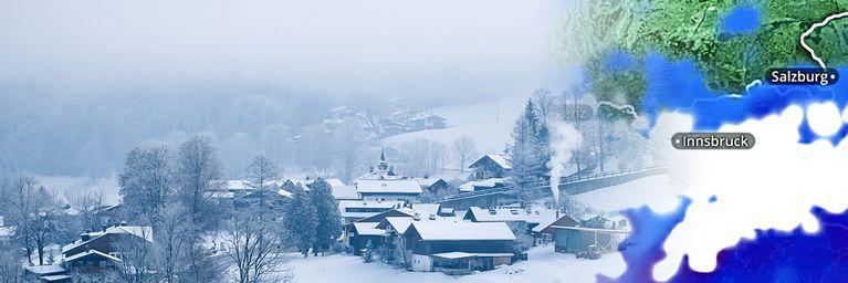 Temperatursturz und Schnee!