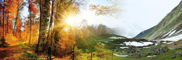 Wettersturz beendet goldenen Oktober