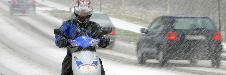 Immer wieder Schnee-, Regen- oder Graupelschauer