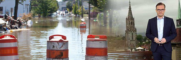 Lokale Überflutungen drohen!