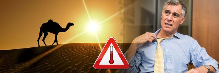 Sahara-Hitze lässt Deutschland schwitzen