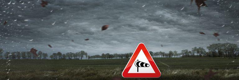 Sturm und Regen, heute an der Tagesordnung!