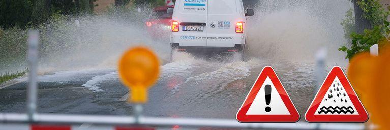 So entwickelt sich die Regen- und Hochwasserlage