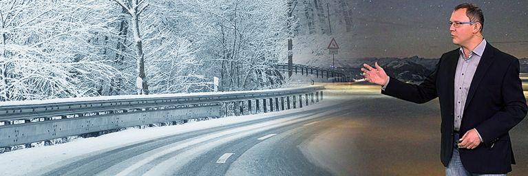 Norden mit viel Schnee und Kälte