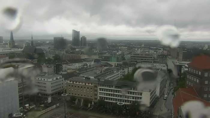 HD Live Webcam Dortmund - Neues Stadthaus - Friedensplatz