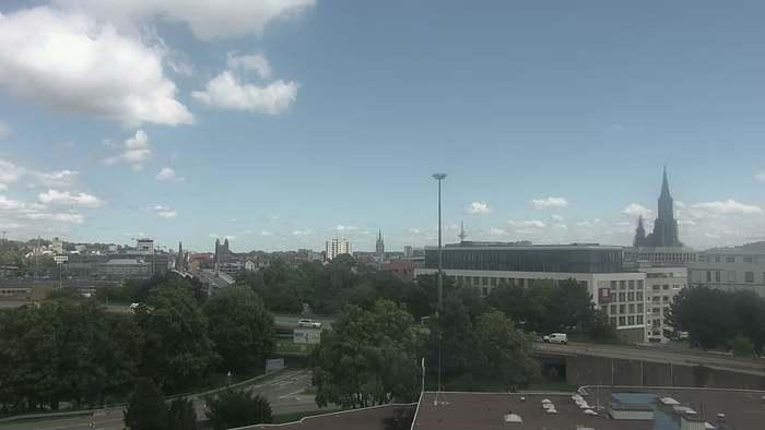 HD Live Webcam Ulm - Blaubeurer Ring - Hotel Blaubeurer Tor