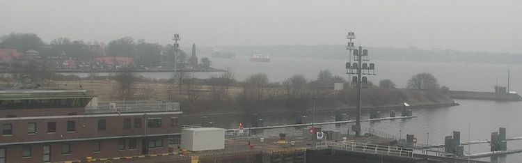 Livecam Kiel - Holtenau - Schleuse