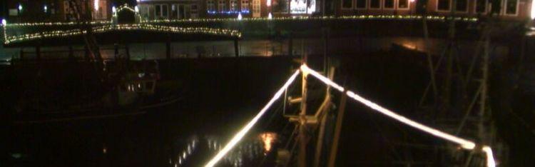 Livecam Neuharlingersiel - Hafen West