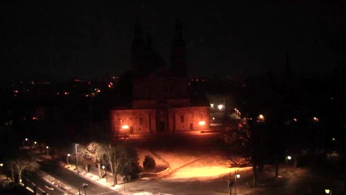 HD Live Webcam Fulda - Fuldaer Dom - Schlossgarten