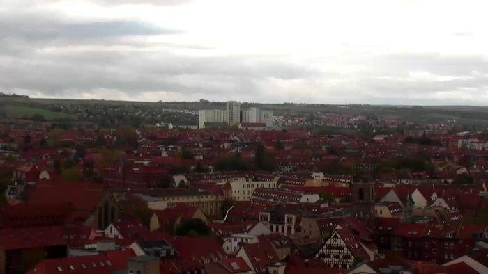 HD Live Webcam Erfurt - Stadtpanorama - Kowo