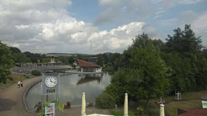 HD Live Webcam Bad Staffelstein - Oberfranken - Kurpark