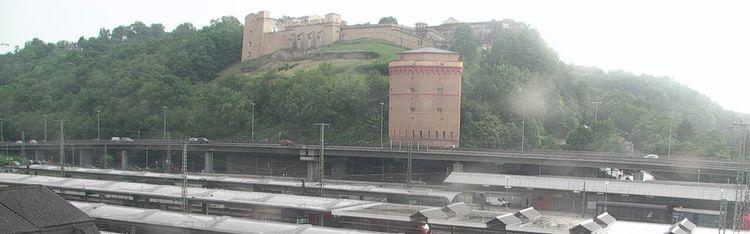 Livecam Koblenz - Hauptbahnhof - Hotel Continental