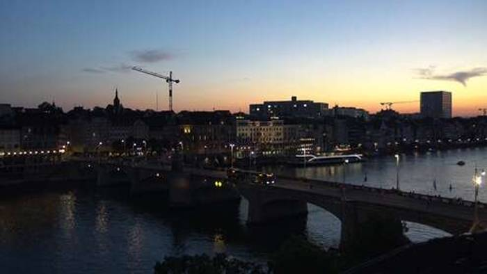 HD Live Webcam Basel - Rheinufer
