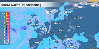 Wetter am Abend: Erhöhte Unfallgefahr durch Schnee und Glätte