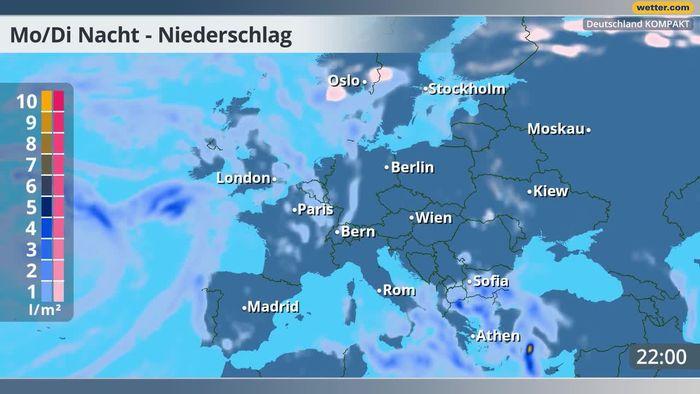 Wetter am Abend: Ab jetzt wirds winterlich!