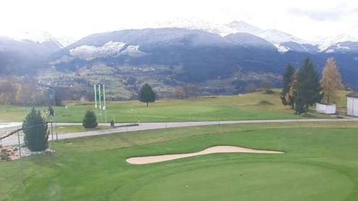 HD Live Webcam Brigels-Golfplatz