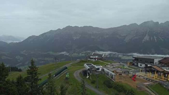 HD Live Webcam Ellmau - Bergstation Hartkaiserbahn