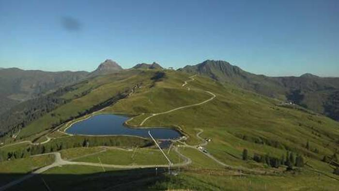HD Live Webcam Hollersbach - Bergstation Panoramabahn - Resterhöhe