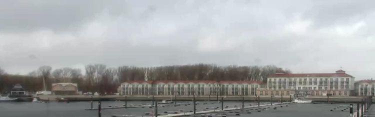 Livecam Ostseebad Boltenhagen - Yachtwelt Weiße Wiek