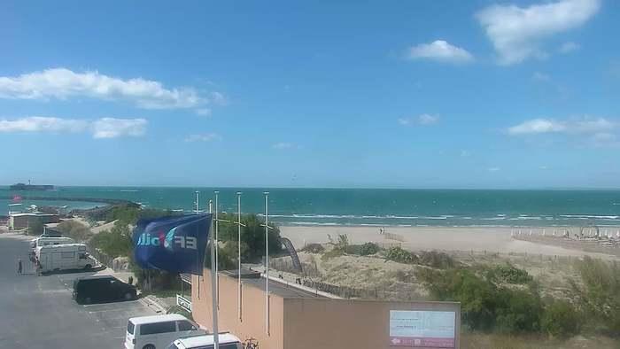 HD Live Webcam Cap d'Agde - Plage Richelieu est