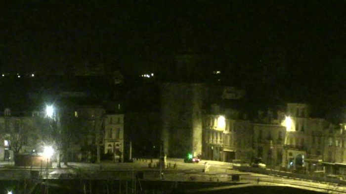 HD Live Webcam La Rochelle - Horloge