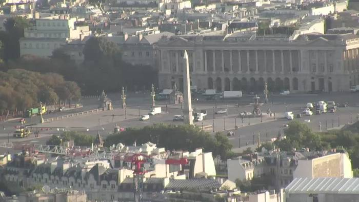 HD Live Webcam Paris - Place de la Concorde