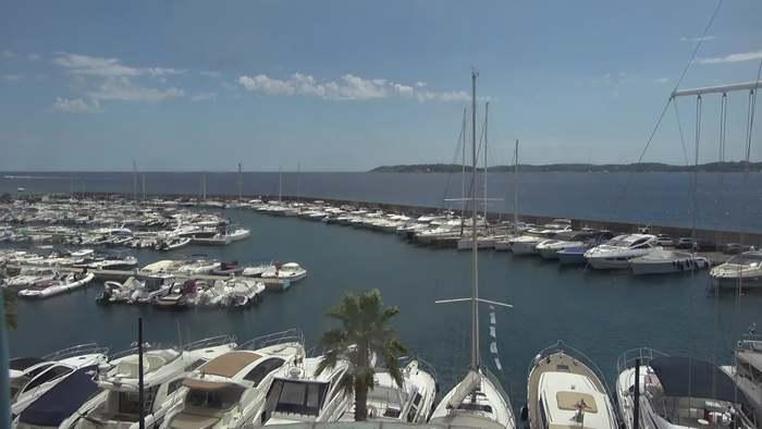 HD Live Webcam Sainte-Maxime - Le port